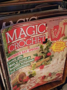 Olde Tyme Crochet Patterns & Carousel Magic Counted Cross Stitch!