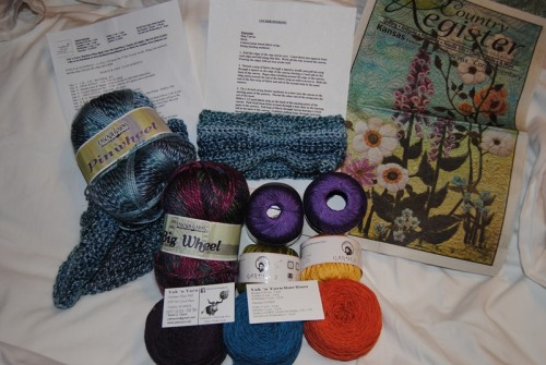 My haul from the Yak 'n Yarn.