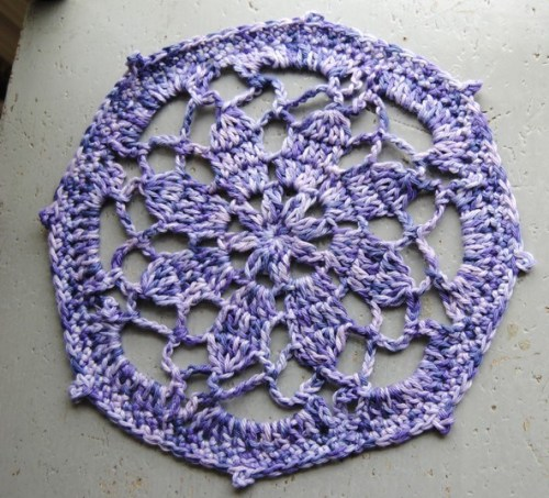 This is one of the projects that I will teach during my Crochet 102 class.