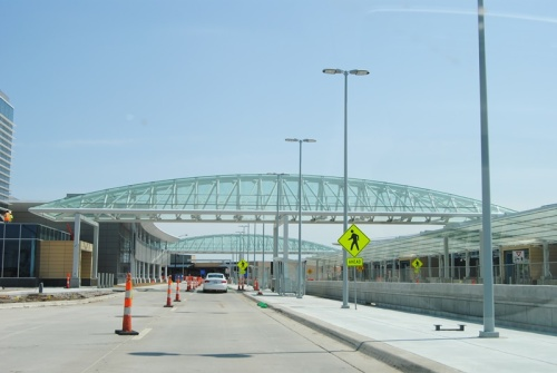 Our airport is going to be so neat once they get all the modifications done.
