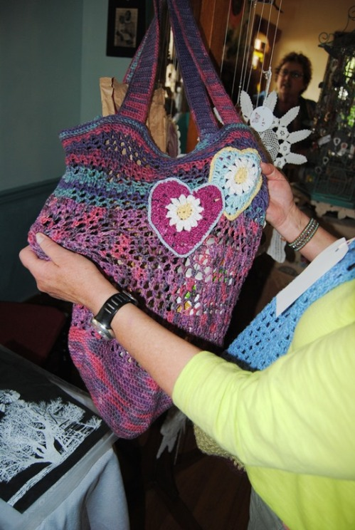 And another market bag made by Rosa.