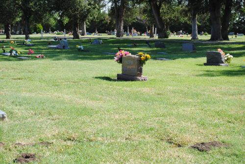 Mom used to tell me how she loved the site of her grave, because she was surrounded by some of her neighbors and friends, the Duttons, Niggs,