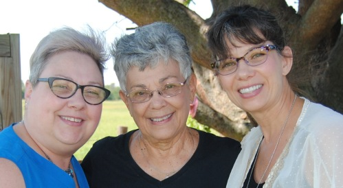 Of course we loved up on our Aunt Marthie, who reminded us so much of our dear Mom.