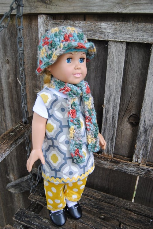 Lots of American Girl doll accessories are being made here for the Kansas Barn Sale.