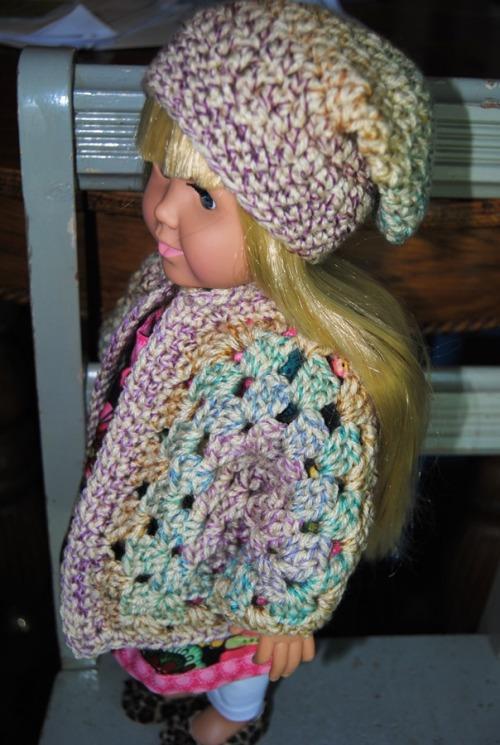The sweater and hat sets are so much fun to make.