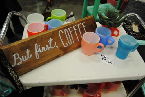 This one really makes me happy with all the soft colors of cups and the signs that she makes are adorable.