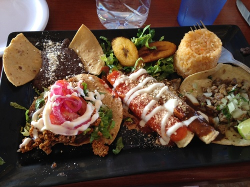 Our lunch in Cozumel. It was wonderful.
